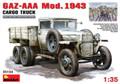 MINIART 35133 - 1/35 GAZ-AAA Mod. 1943 Cargo Truck