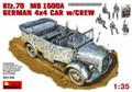 MINIART 35139 - 1/35 Kfz.70 MB 1500A German 4x4 Car w/crew