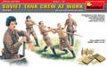 MINIART 35153 - 1/35 Soviet Tank Crew at Work - Special Edition