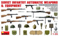 MINIART 35154 - 1/35 Soviet Infantry Automatic Weapons & Equipment