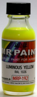 MR. PAINT MRP-192 - Luminous Yellow RAL 1026 (30ml)