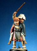 PEGASO MODELS 54-200 - 54mm Medieval Children, Set no 1