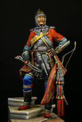 PEGASO MODELS 75-094 - 75mm Officer of the Tsar's Guard, Russia 1830