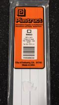 PLASTRUCT RTFS-12 90633 -Styrene Rectangular Tubing mm.9,5x6,4x0.6(thickness) x 375L - 4 pcs