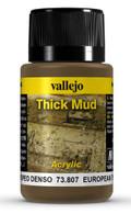 VALLEJO 73807 - European Thick Mud (40ml)