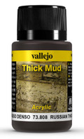 VALLEJO 73808 - Russian Thick Mud (40ml)