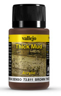 VALLEJO 73811 - Brown Thick Mud (40ml)
