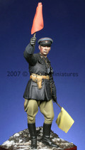 ALPINE MINIATURES 16002 - 1/16 WW2 Russian Officer