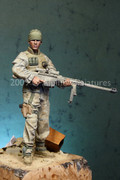 "ALPINE MINIATURES 16008 - 1/16 Modern USMC Sniper - ""In Remembrance of Those Who Never Came Home"""