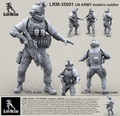 LIVE RESIN LRM-35001 - 1/35 US ARMY modern soldier # 1
