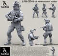 LIVE RESIN LRM-35003 - 1/35 US ARMY modern soldier # 3