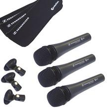 Sennheiser E835 Dynamic Microphone Three Pack