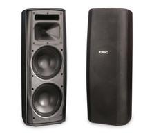 QSC AcousticDesign AD-S282HT-BK Black Loudspeaker