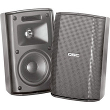 QSC AcousticDesign AD-S32T Surface Mount Speakers (Black)