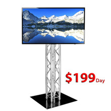 "RENTAL 55"" FLAT PANEL WITH TRUSS STAND   ***FREE LOCAL DELIVERY ***"