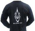 Sea Angler Gear Black Classic Skull Shirt