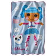 Lalaloopsy Fluff-n-Stuff Twin Size Micro Raschel Blanket