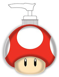 Super Mario 'Simply the Best' Lotion / Soap Pump