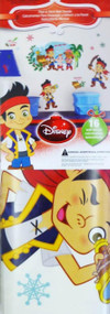Jake Christmas Holiday Peel & Stick Wall Decals