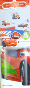 Cars Christmas Holiday Peel & Stick Wall Decals