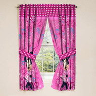 Disney Minnie Mouse Bow-tique Pink Window Panels