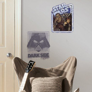 Star Wars Han Solo and Dark Side Giant Wall Decals