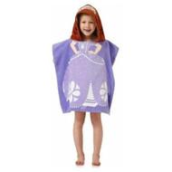 Disney Sofia the First Princess Hooded Towel Beach / Bath