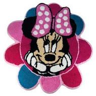 Disney Minnie Mouse Flower Bath Rug Pink Bathroom Mat Girls