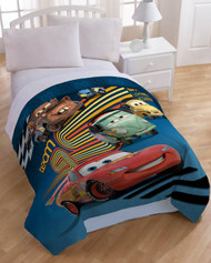 Disney Cars Movie Twin Microfiber Comforter and Sham