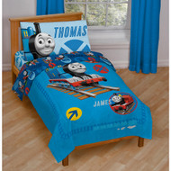 Thomas the Tank Engine & Friends 4 Pc Toddler Bedding Set