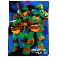 """Teenage Mutant Ninja Turtle 62"""""""" x 90"""""""" Blanket"""