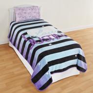 Justin Bieber Comforter Size Twin Plush Blanket