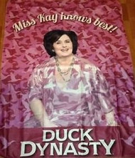 A&E Duck Dynasty Miss Kay Polar Throw Blanket