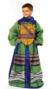 """Nickelodeon TMNT """"Being Leo"""" Youth Comfy Throw"""