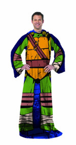 """Nickelodeon TMNT """"Being Leo"""" Adult Comfy Throw"""