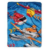 """Disney's Planes """"Rescue Crew"""" Micro Raschel Throw"""