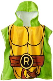 "Nickelodeon Teenage Mutant Ninja Turtles ""Raphael"" Hooded Bath Poncho"