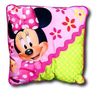 Disney Junior Minnie Mouse Bow-Tique Decorative Pillow