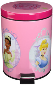 """Disney Princess """"Summer Palace"""" Step-on Waste can"""