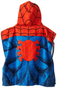 Spiderman Hooded Bath/Beach Poncho Towel