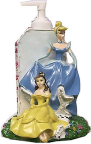 Princess Lotion / Soap Pump - Cinderella and Belle