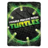 "Teenage Mutant Ninja Turtles Super Plush Fleece Throw - 46"" by 60"""