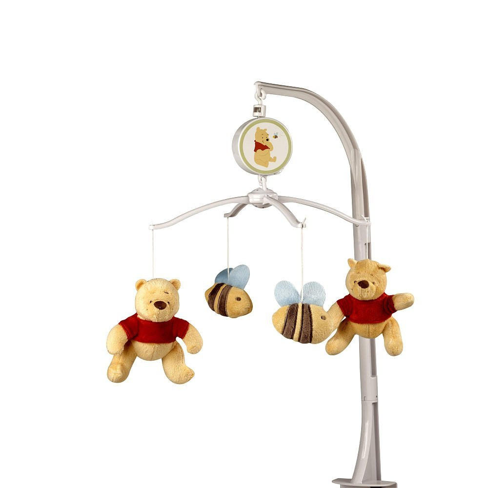 winnie the pooh sunny hunny day musical mobile cad picclick ca. Black Bedroom Furniture Sets. Home Design Ideas
