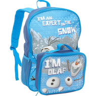 Disney Frozen Backpack with Lunch Kit