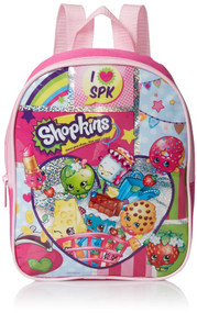 "Shopkins ""I Love SPK"" 10in Toddler Mini Backpack"