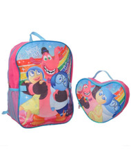 Disney Inside Out Backpack with Lunch Bag