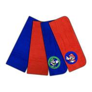 Super Mario 4Pk Washcloth Set