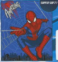 Marvel Amazing Spiderman Plush Fleece Throw Blanket