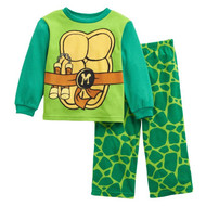 Nickelodeon Teenage Mutant Ninja Turtles Fleece Pajama Set- 3T