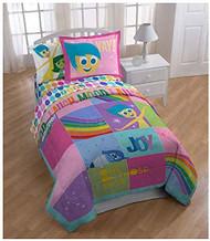 "Disney/Pixar Inside Out ""Rainbow Patchwork"" Twin Comforter"